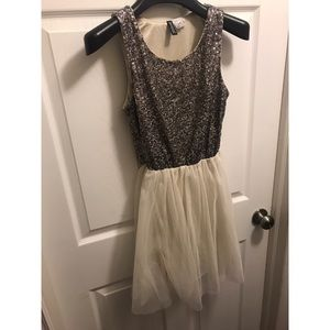 Divided Dress, Sequin and Tule!